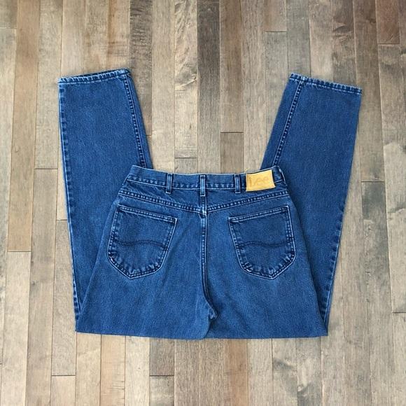 Lee Denim - Vintage Lee boyfriend jeans!